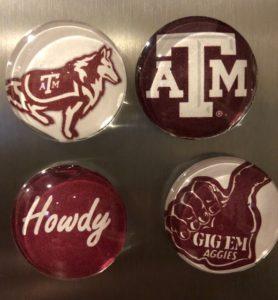 Miss Rev, ATM, Howdy, GIG 'EM